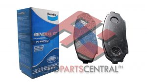 Bendix DB 1178 GCT Front Brake Pads Mazda Miata, Mitsubishi Pajero Jr.