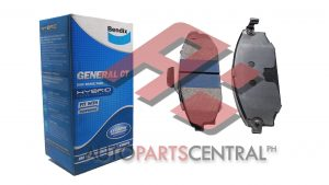 Bendix DB 2306 GCT Brake Pads Front Hyundai Galloper 1997-2002