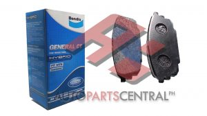 Bendix DB 1359 GCT Brake Pads Rear Ford Lynx Ghia 2003-2005