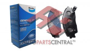 Bendix DB 1123 GCT Front Brake Pads Honda Accord, Civic