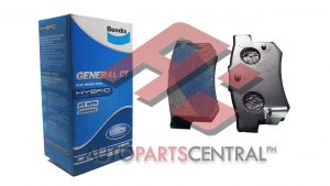 Bendix DB 1142 GCT Rear Brake Pads Honda Civic 2004-2012