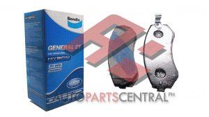 Bendix DB 1148 GCT Front Brake Pads Nissan Cefiro 240SX Patrol Silvia Safari