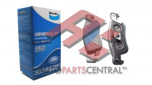 Bendix DB 1161 GCT Rear Brake Pads Trooper
