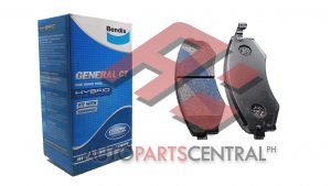 Bendix DB 1167 GCT Brake Pads