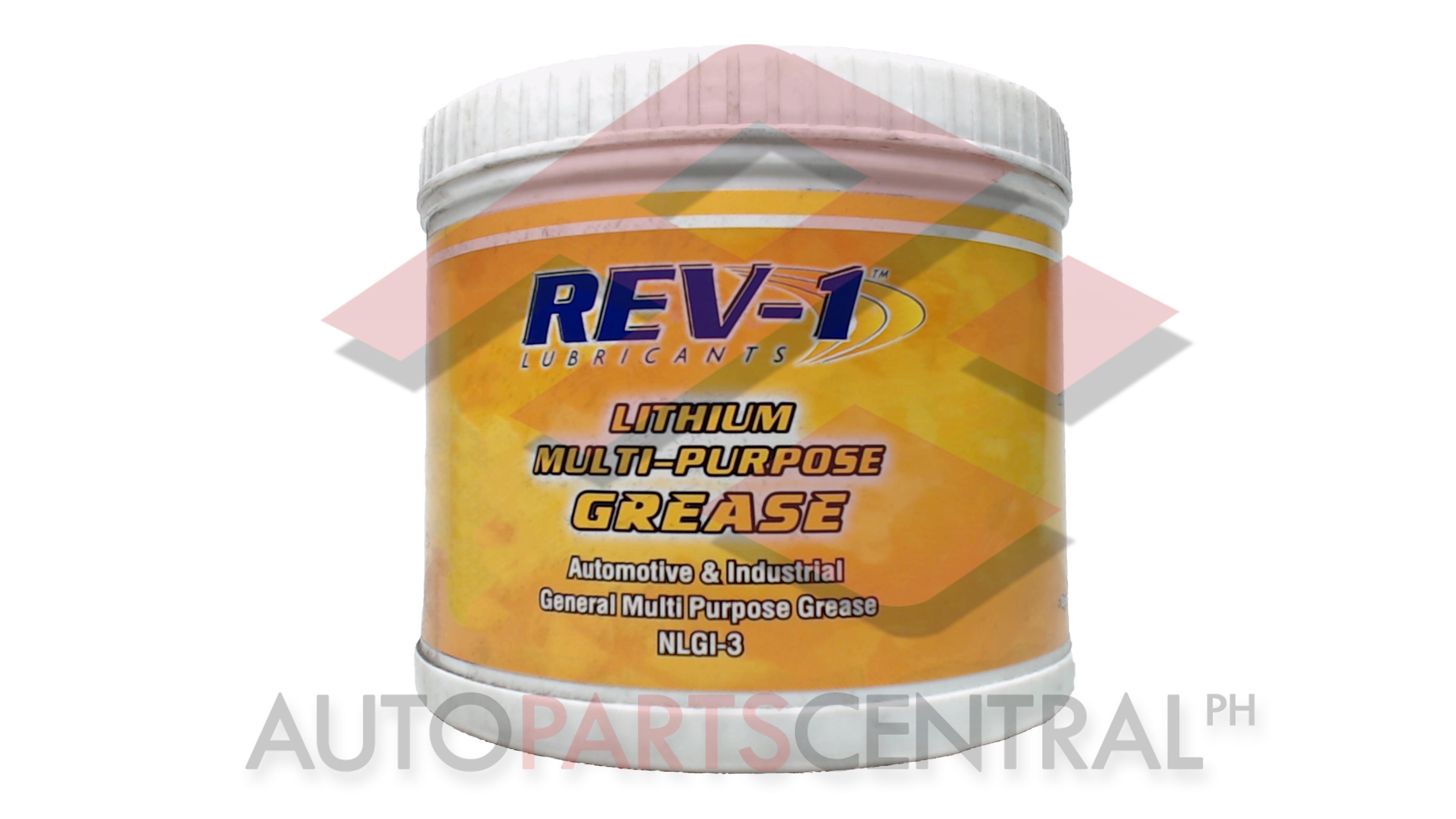 Rev-1 Lubricants Lithium Multi-Purpose Grease NLG1-3 1kg