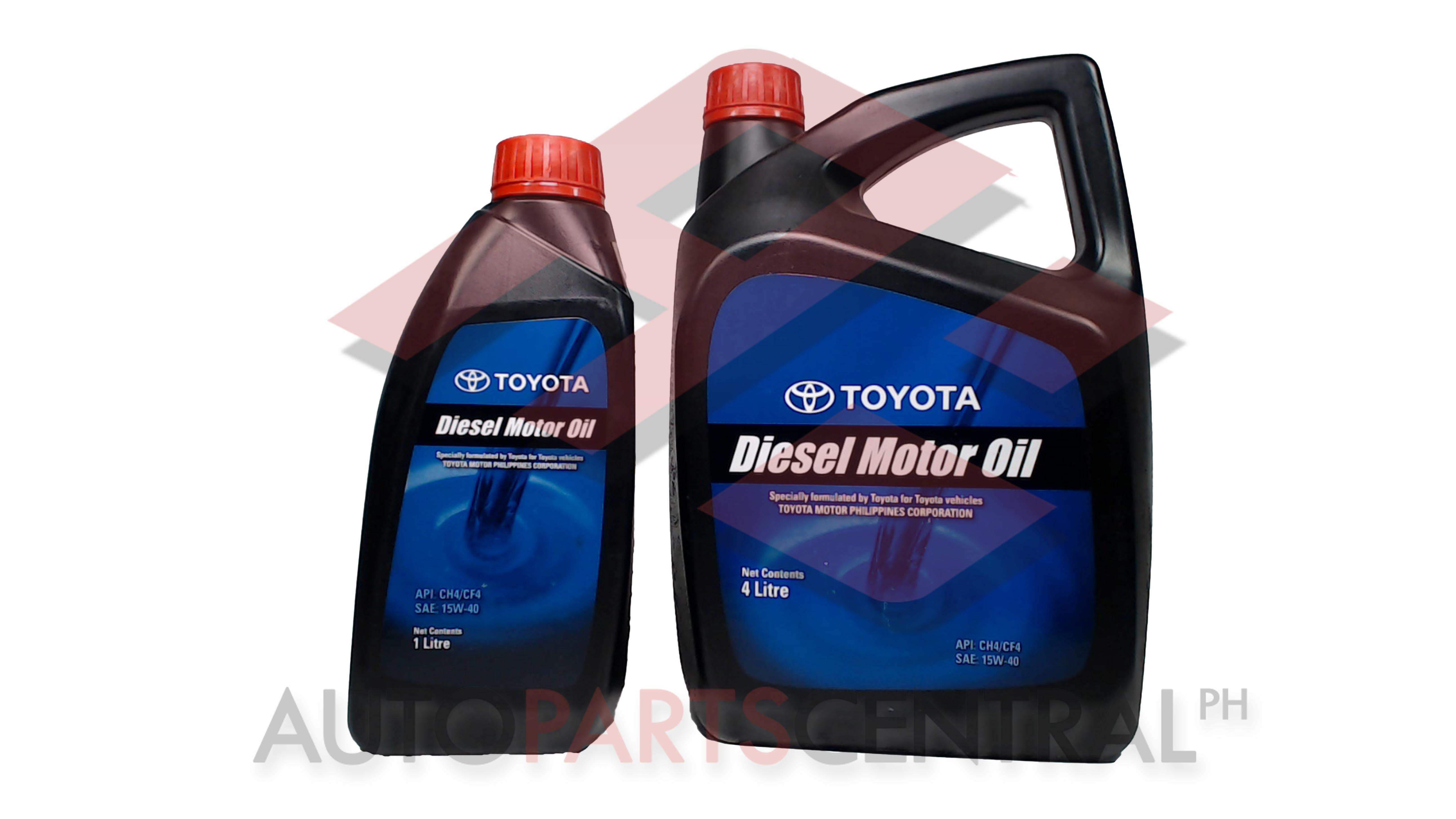 and services genuine toyota parts inc makati oil