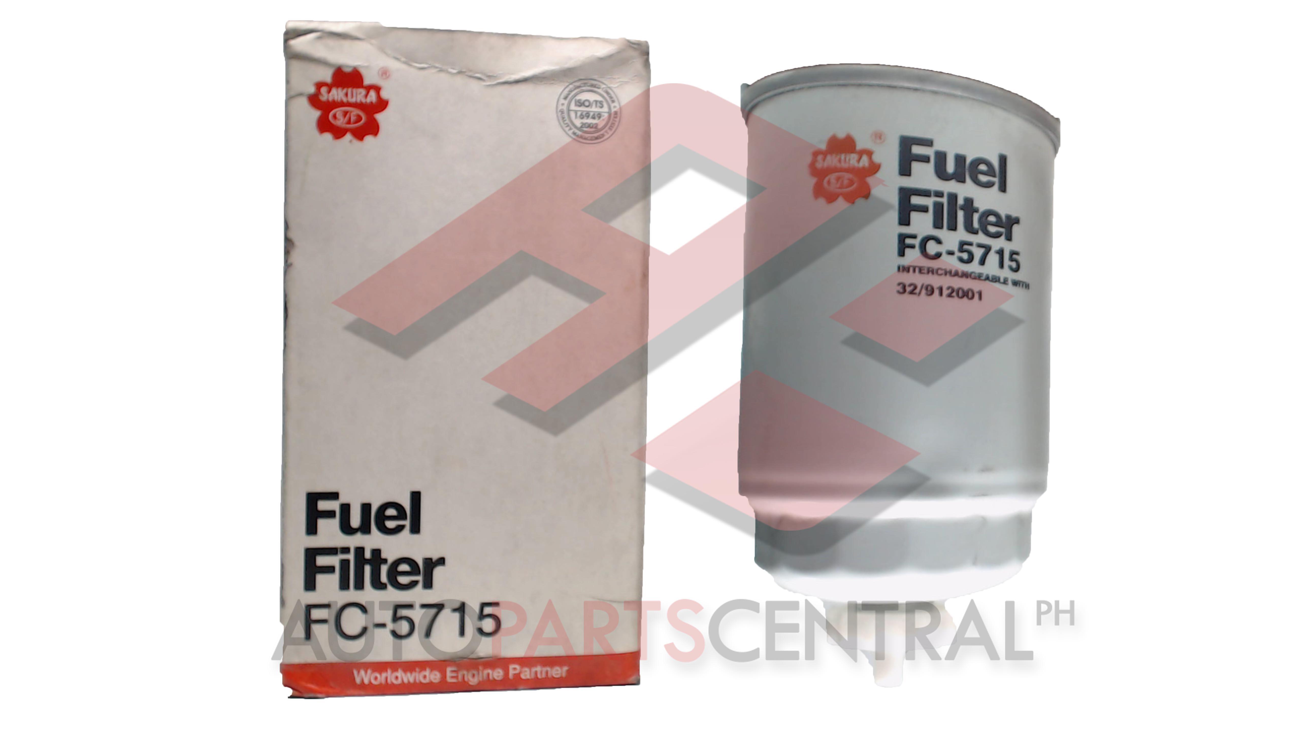 Fuel Filter Fc 5715 Cummins Hyundai Crd I Autopartscentralph