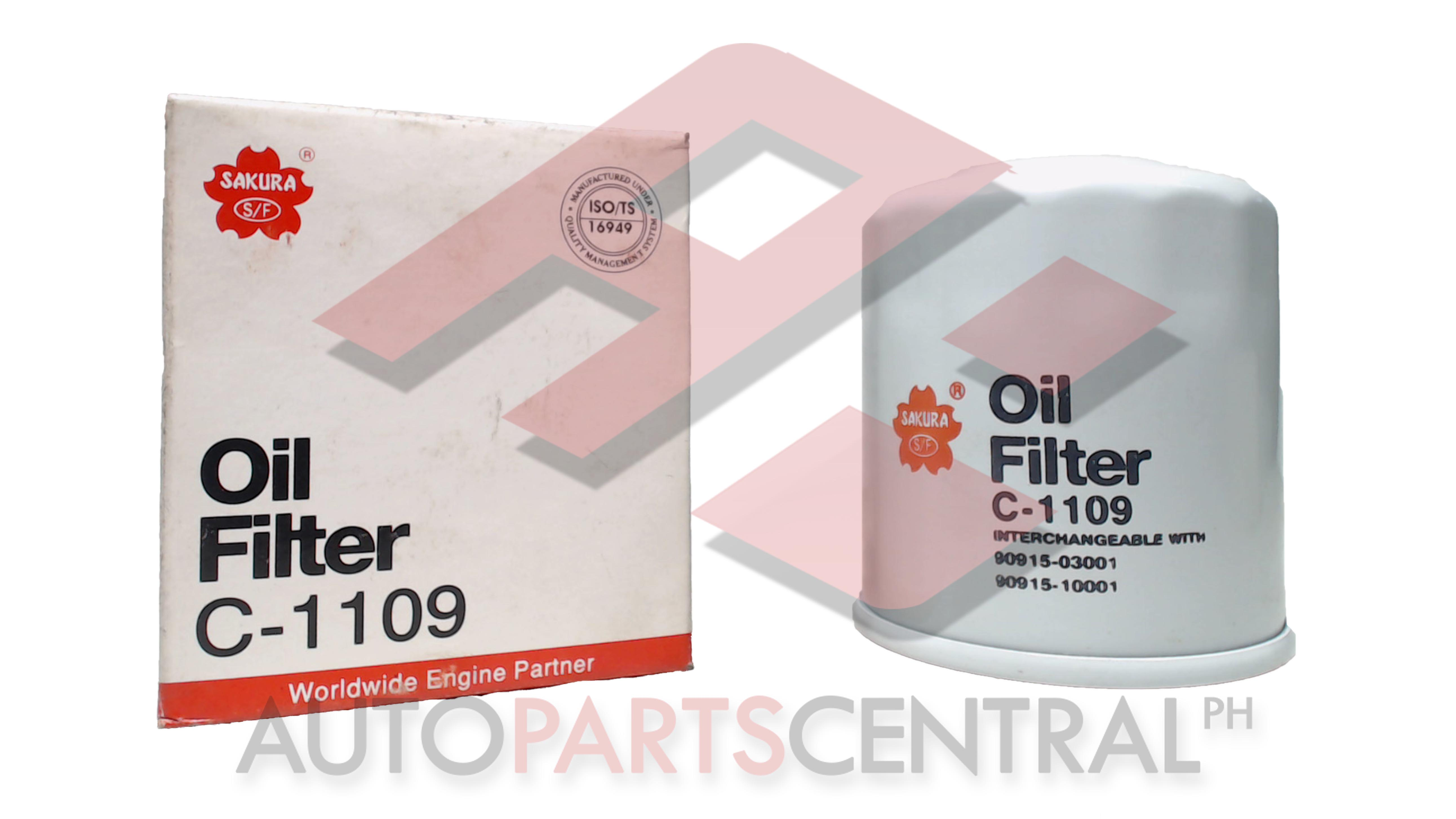 Oil Filter Sakura C-1109 Toyota 2E