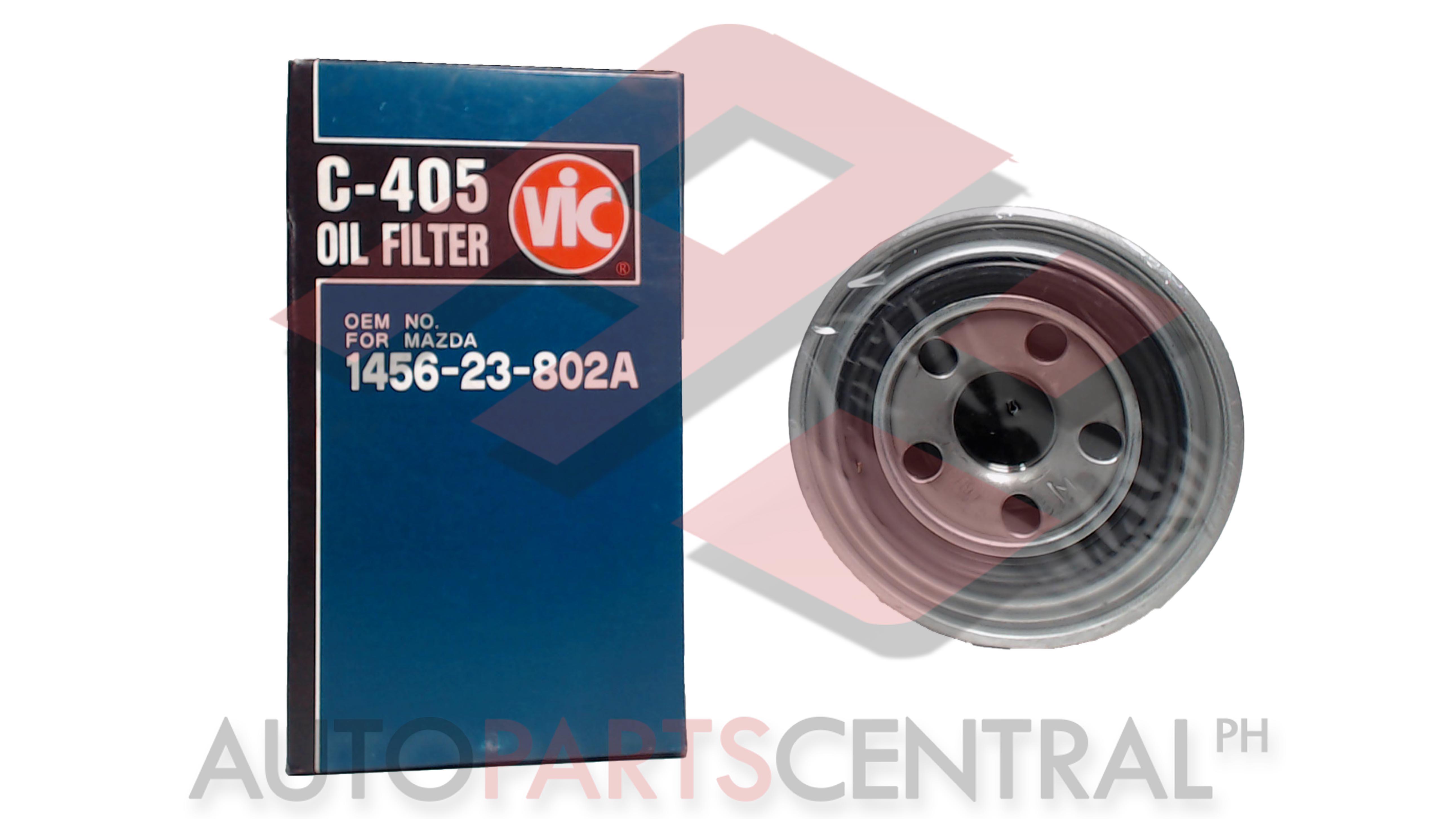 Oil Filter Vic C 405 Mazda Autopartscentralph 1110 Fuel