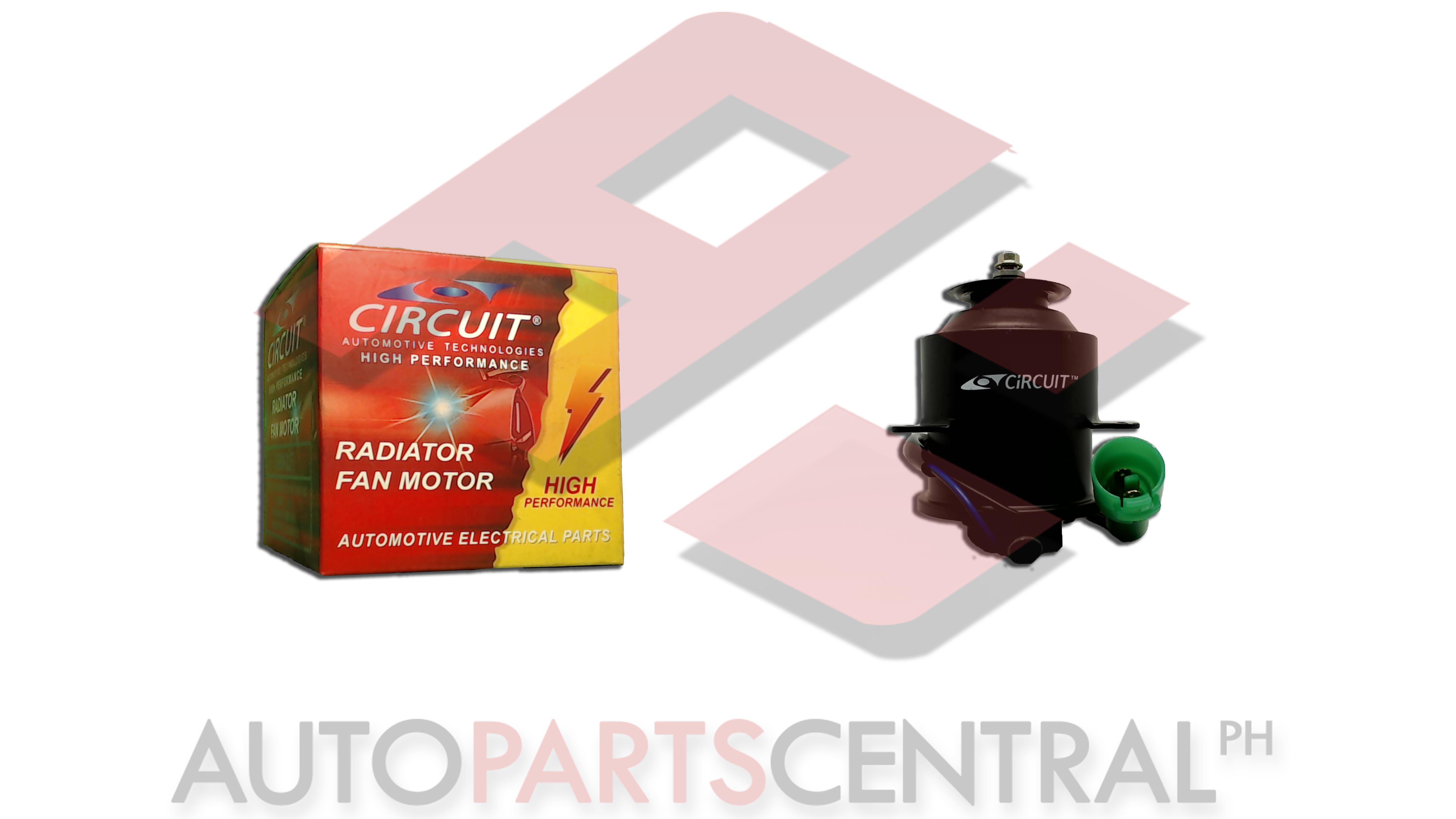 Radiator Fan Motor Circuit Toyota Corona Autopartscentralph Diagram
