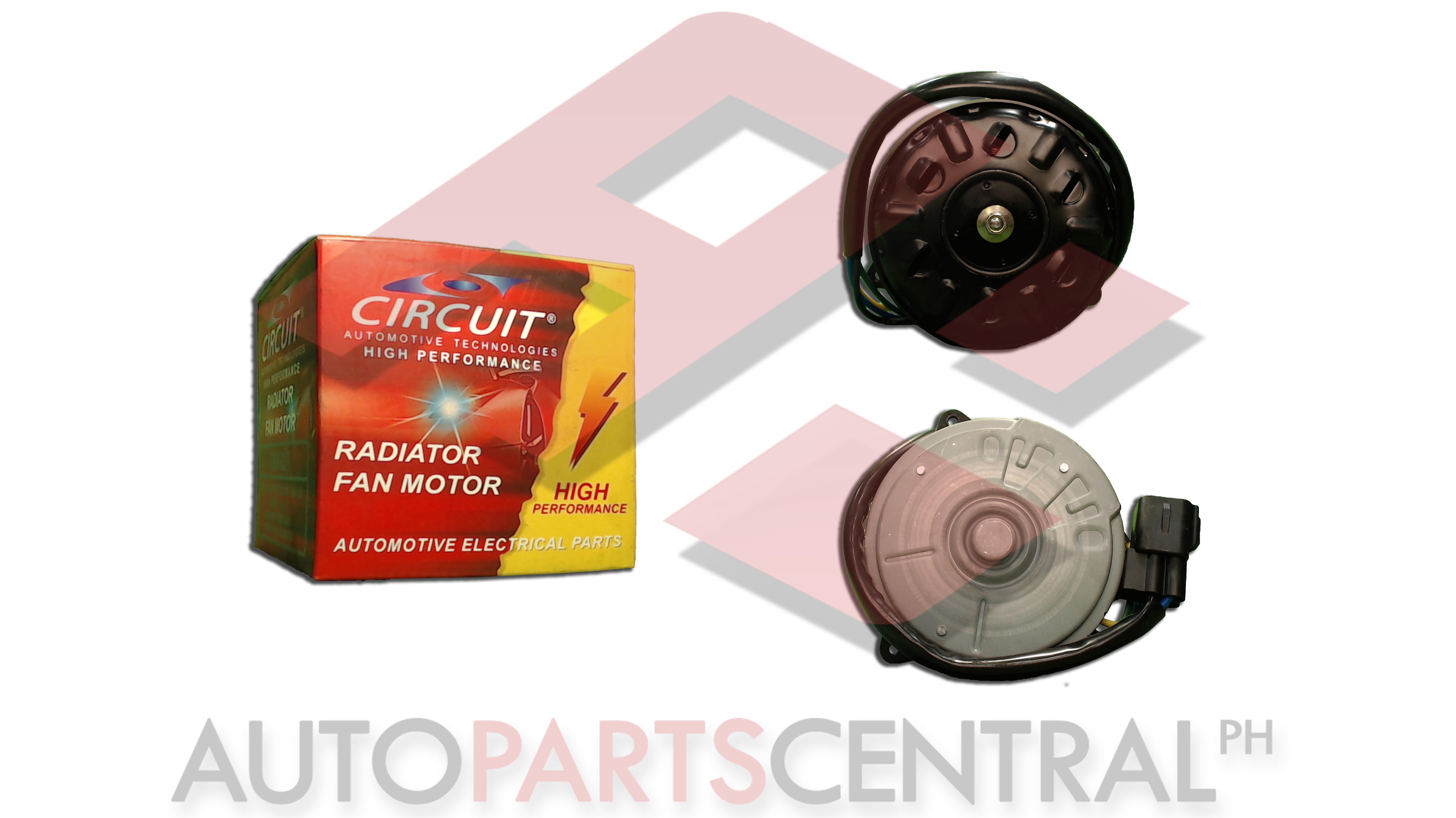 Radiator Fan Motor Circuit Suzuki APV A/T Clockwise