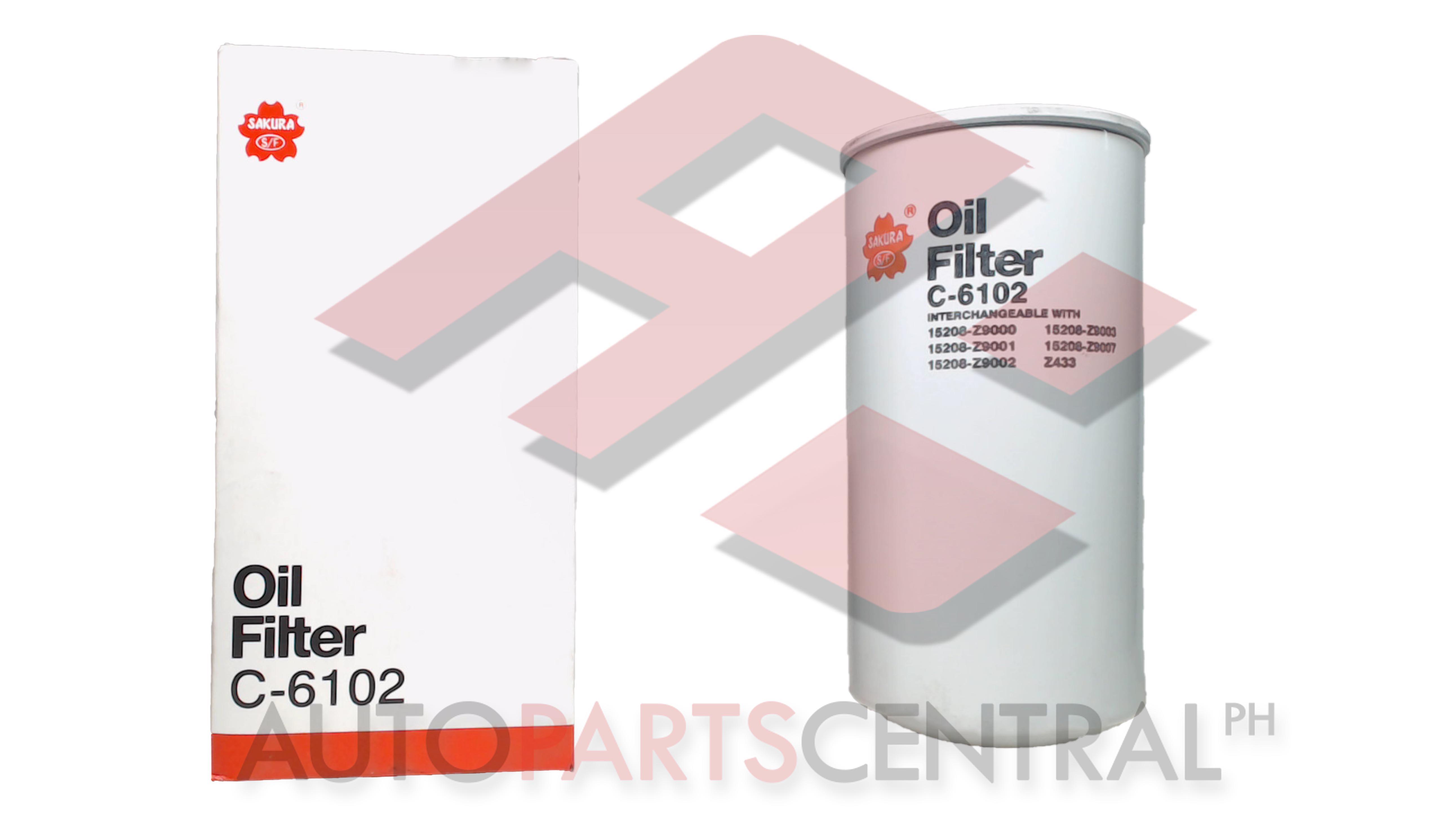 Oil Filter Sakura C-6102 Nissan