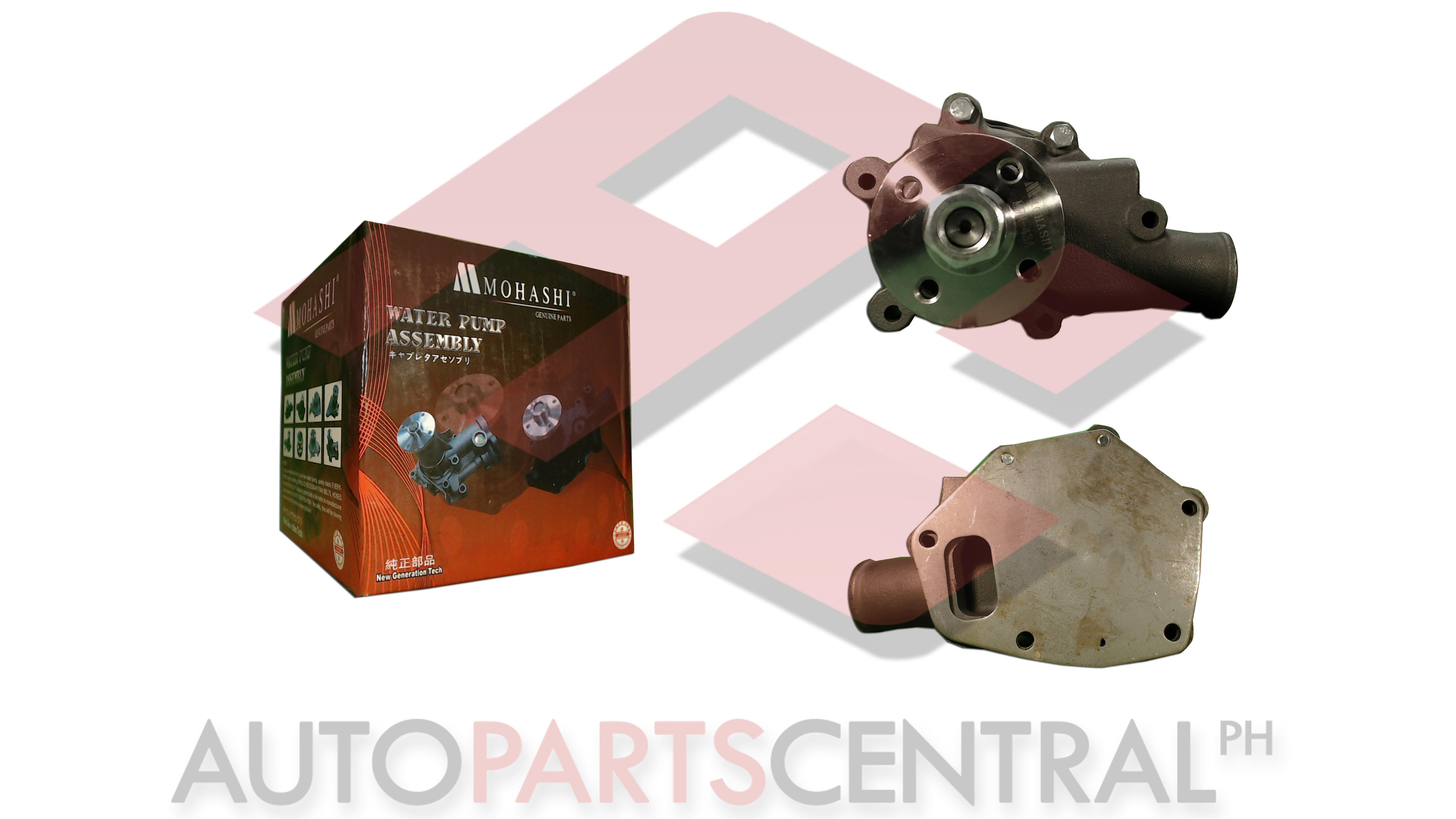 Water Pump Assembly Mohashi MWM-43A Fuso 4DR5