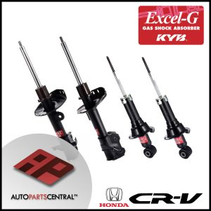 KYB Excel-G Front & rear Set Honda CRV 339261 339262 340115