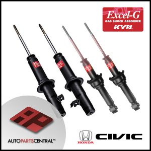 KYB Excel-G Front & Rear Set Honda Civic Esi 1991-1995 341138 341139 341193