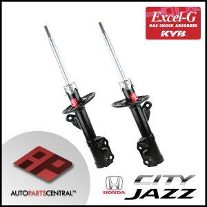 KYB Excel-G Front Set Honda City Jazz 2001-2012 GD GE 338704 338705